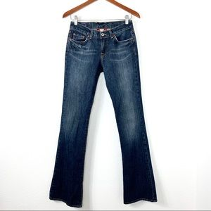 Lucky Band Sweet N Low Flare Jeans Blue 0/25